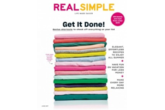 Real Simple June 2017 cover ()