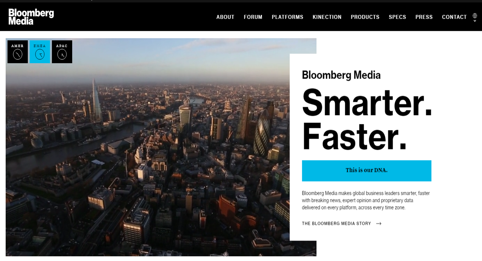 Bloomberg Media HP ()