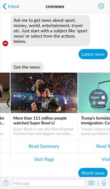 CNN Chatbot ()