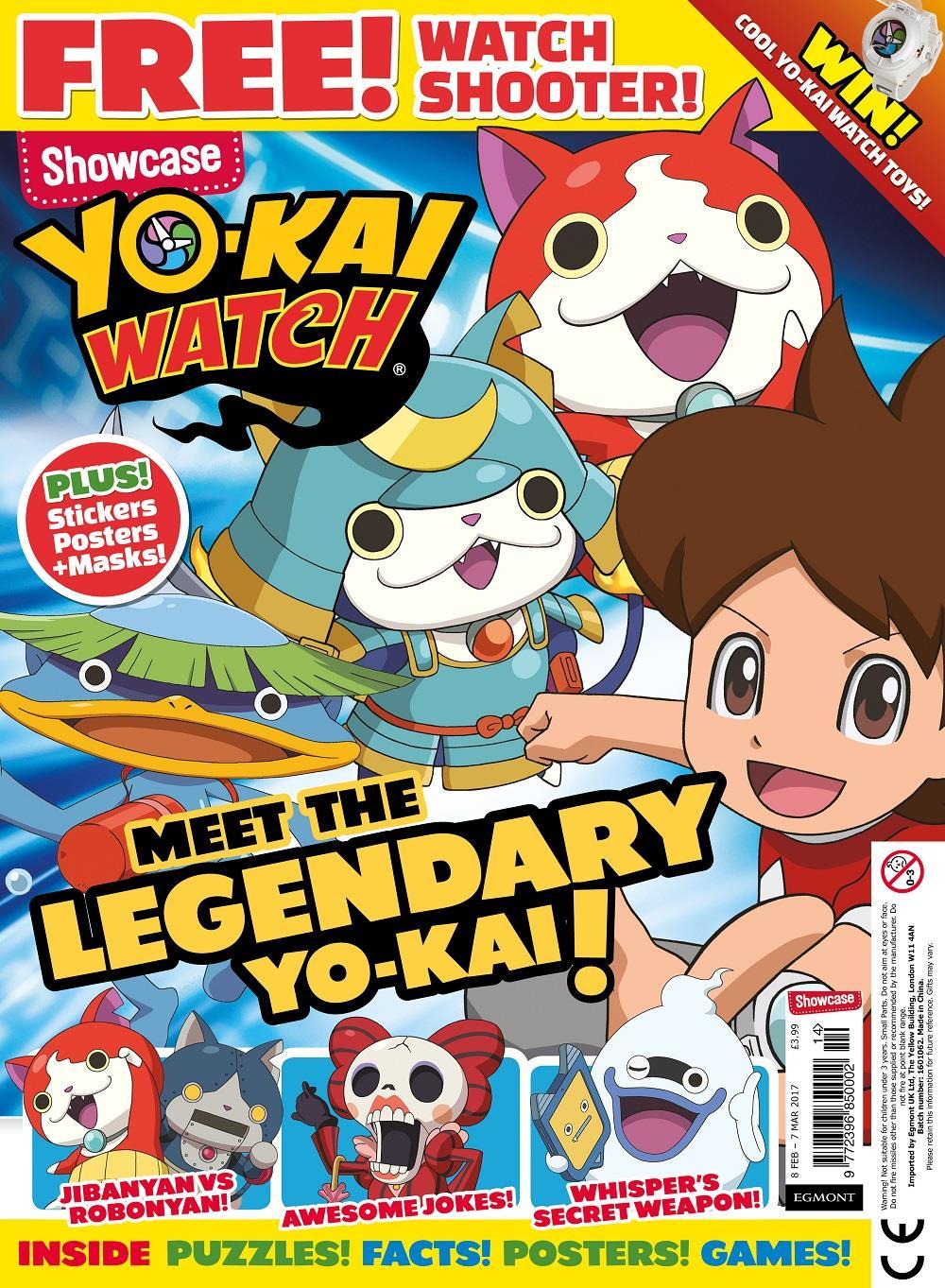 Showcase Yo-Kai Watch cover ()