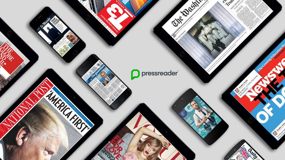PressReader devices image ()