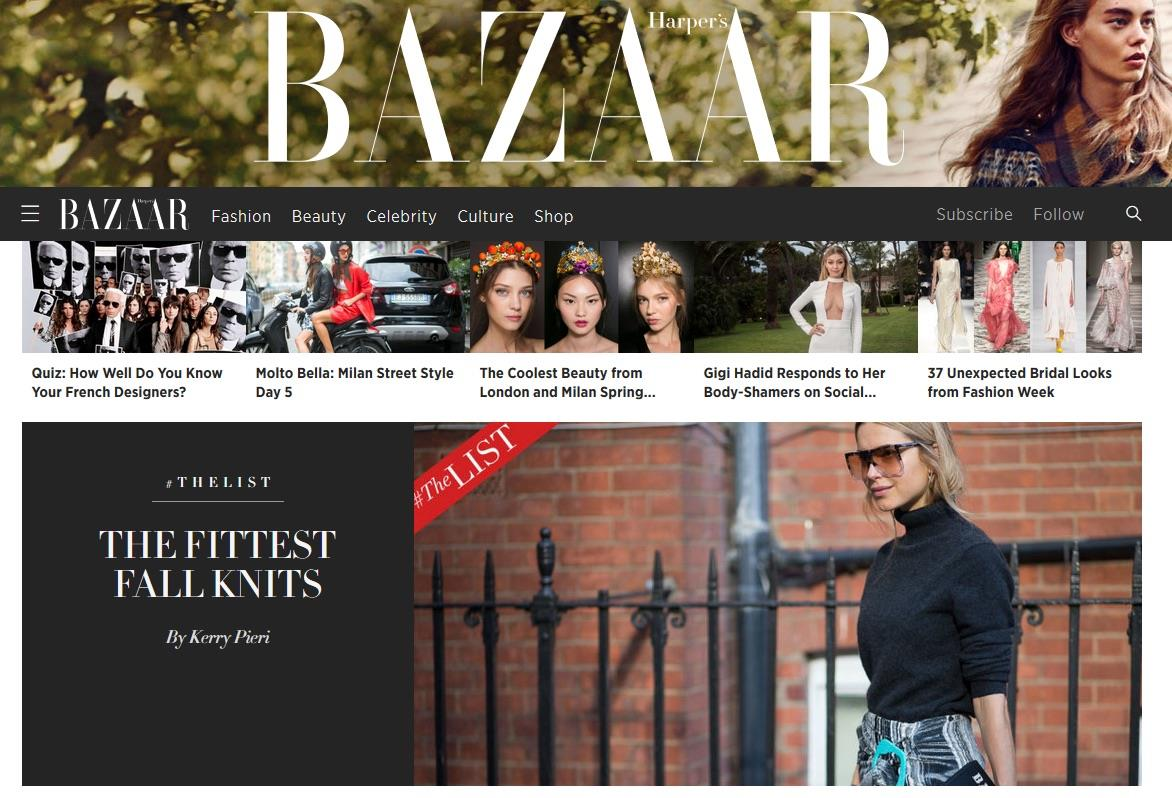 why is harper u0027s bazaar outperforming the monthly magazine growth