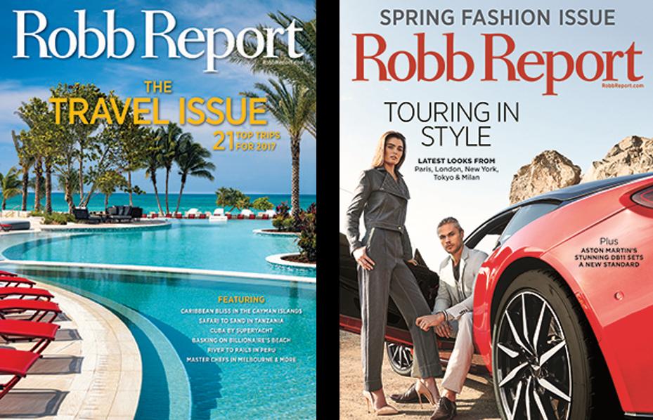Robb Report mag ()