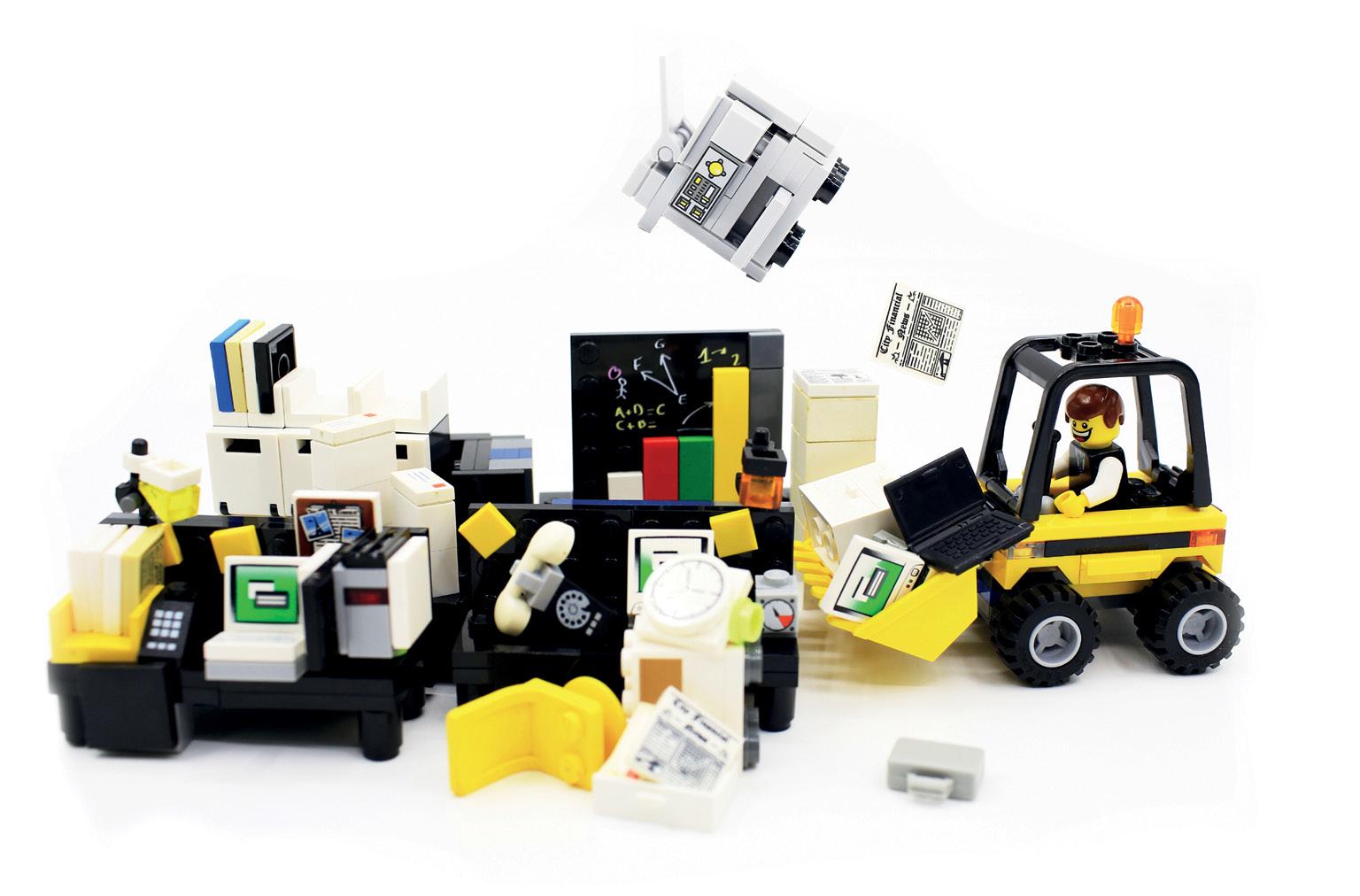 Innovation reorganisation lego ()