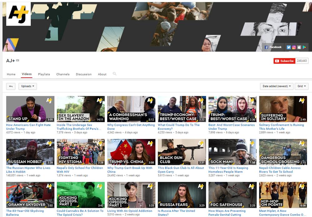 AJ+ YouTube ()
