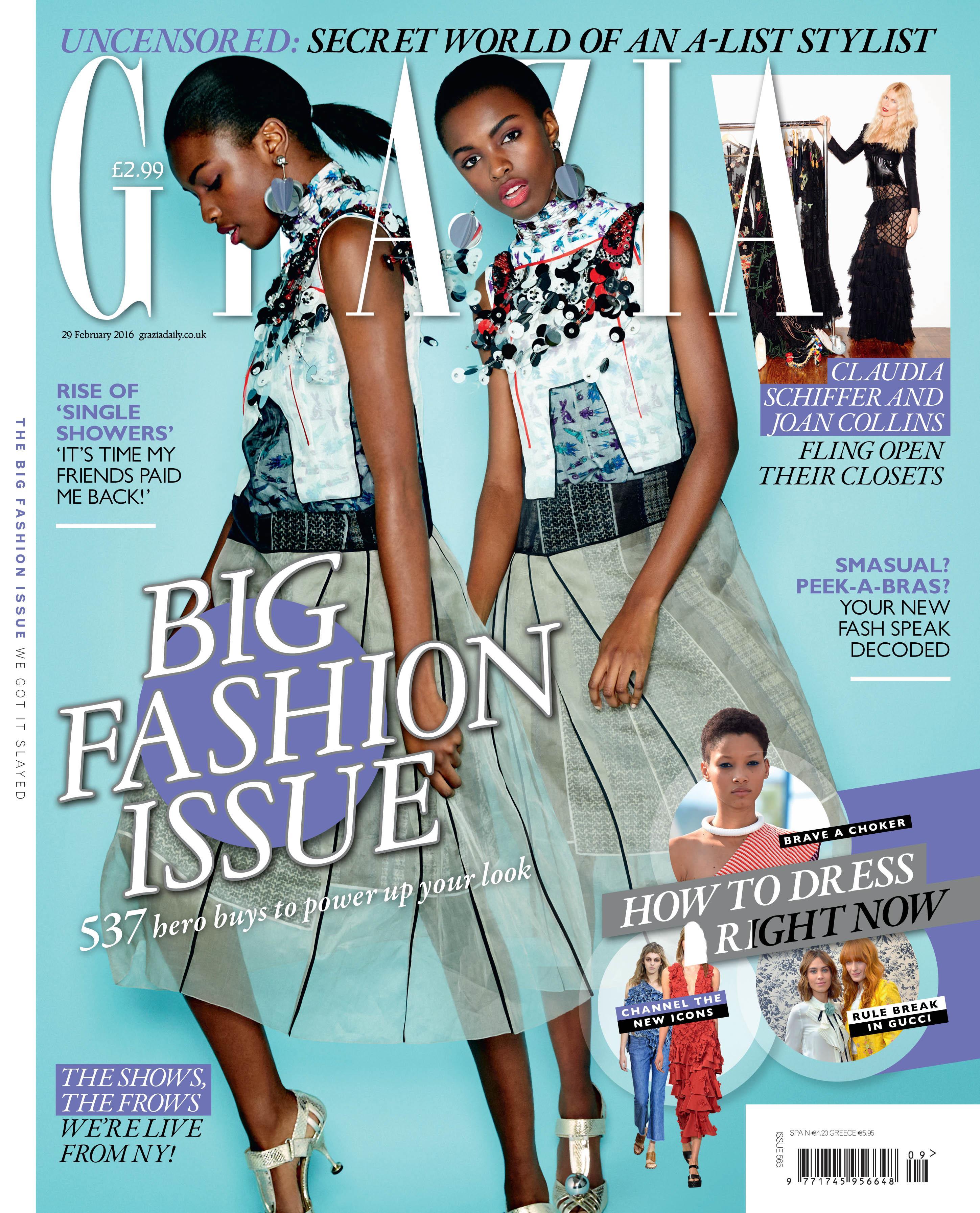 Grazia UK cover ()
