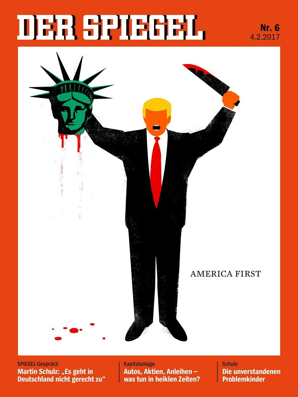 Der Spiegel Trump cover ()