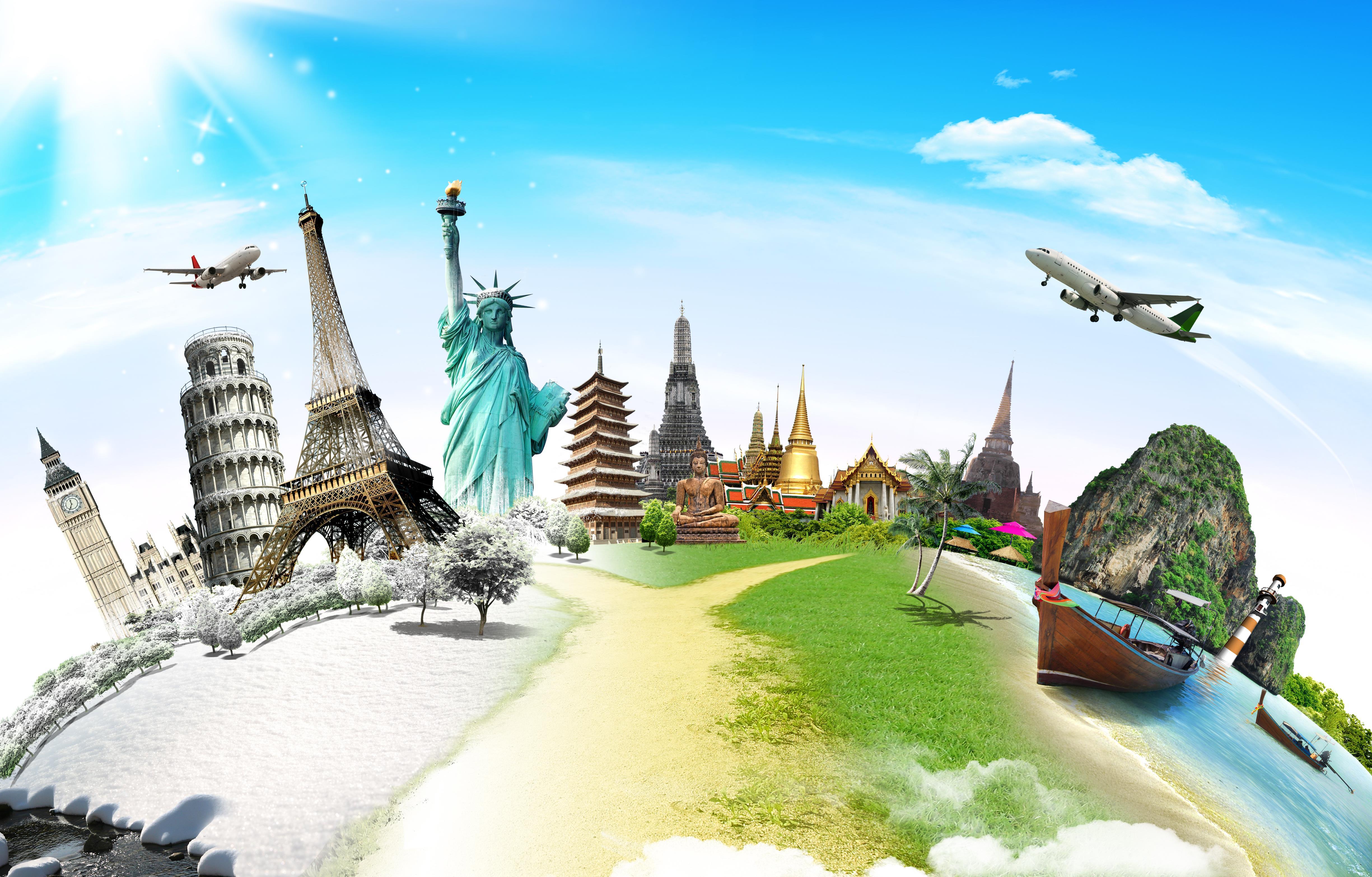 World skyline ()