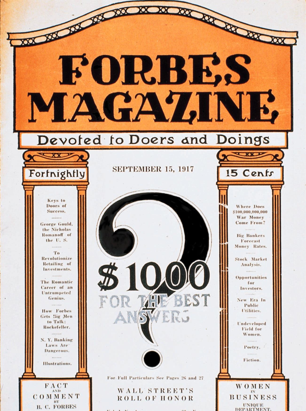 Forbes 1st issue ()