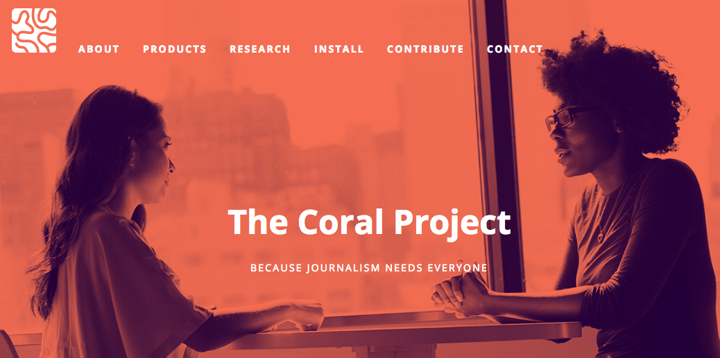 The Coral Project Home ()