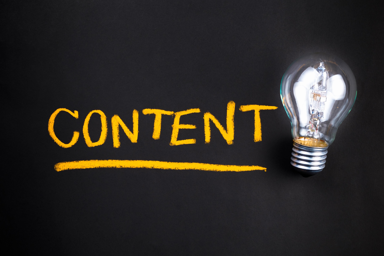 Content lightbulb ()