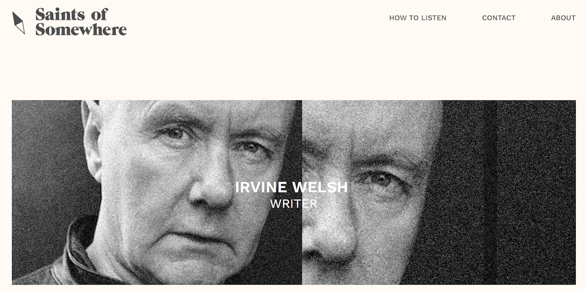 SOS podcast Irvin Welsh ()