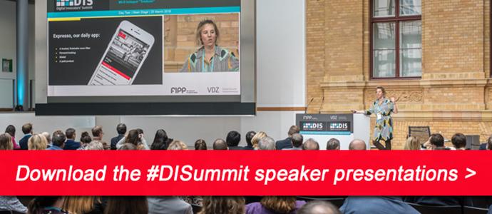DIS download speaker presentations 27 Mar 2018 ()