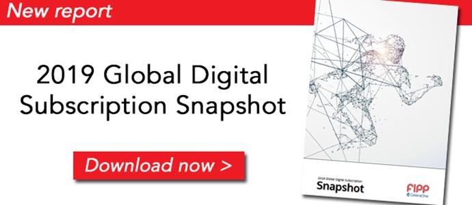 2019 Global Digital Subscription Snapshot ()