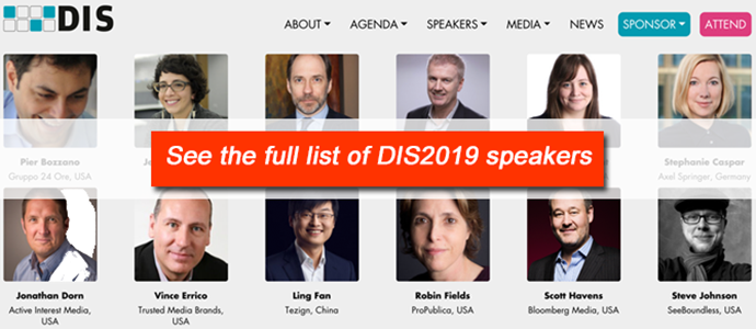 DIS speakers 23 Nov 2018 ()