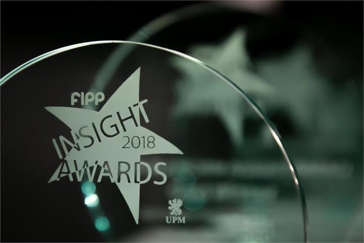 FIPP Insight awards 2018 trophy ()
