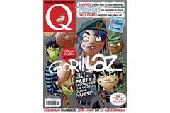 Q magazine cover by Gorillaz co-creator (Bauer Media)