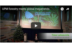 UPM sustainability presentation video ()