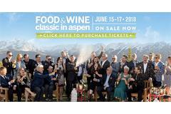 Food and Wine Classic Aspen header ()