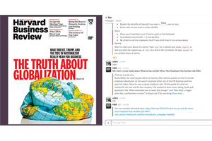 HBR cover and Slack bot ()