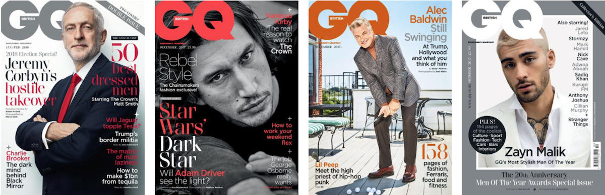 GQ covers ()