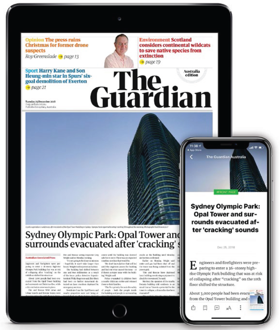 The guardian ()