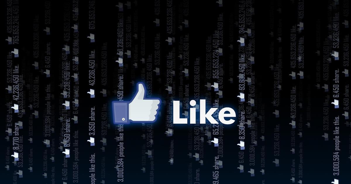 Facebook likes header ()