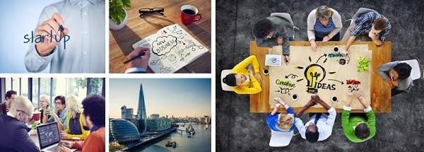London Start Up scene montage ()