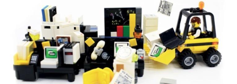 Lego reorganisation - Innovation in Magazine Media 2017-2018 (FIPP)