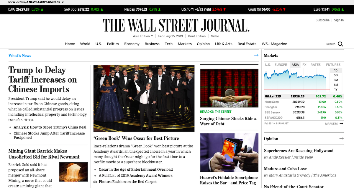 The Wall Street Journal ()