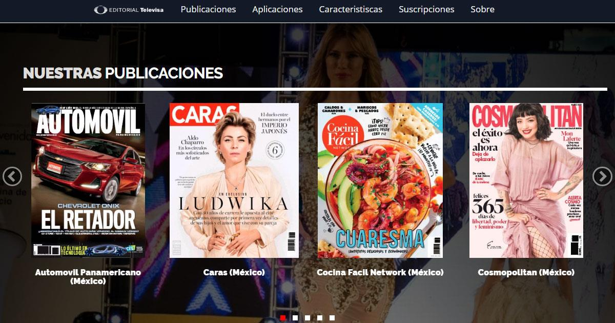 Televisa PressReader ()