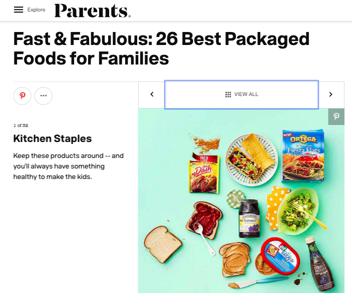 Parents Best Packaged Foods ()