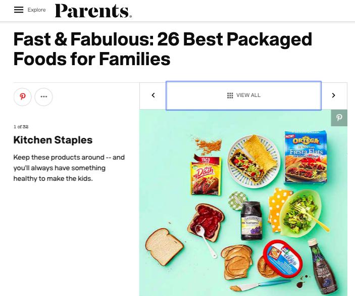 Parents Best Packaged Foods ()
