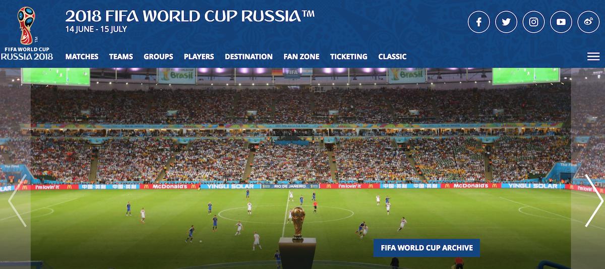 FIFA World Cup 2018 ()