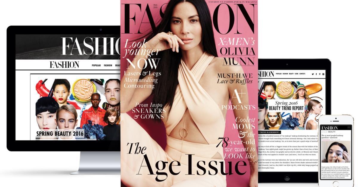 Fashion Magazine header ()