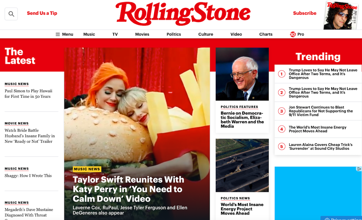 Rolling Stone HP ()