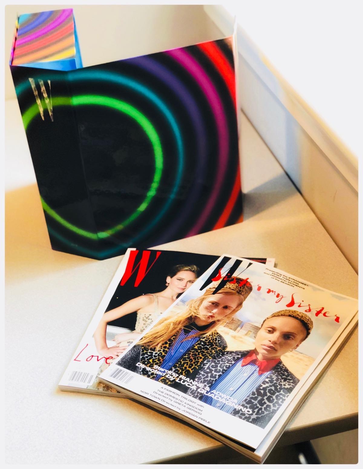 W magazine box ()