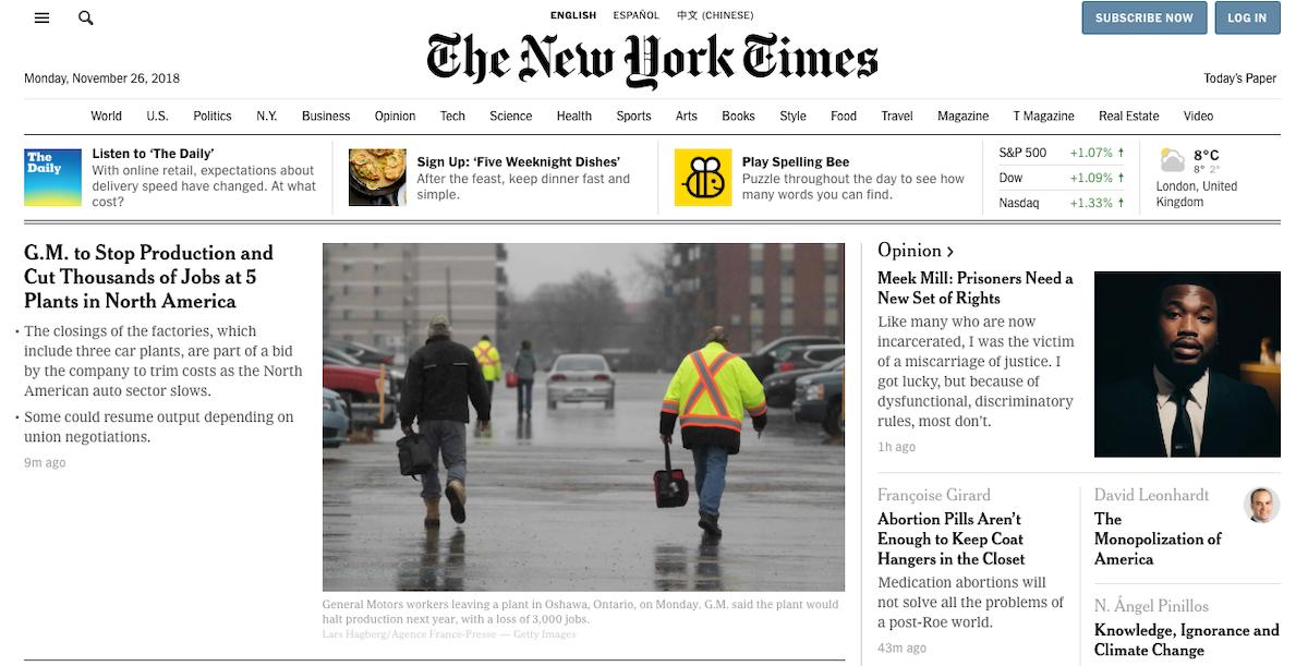 NYT ()