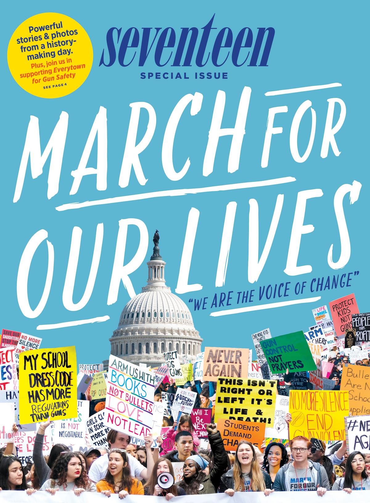 Seventeen March for our Lives issue ()