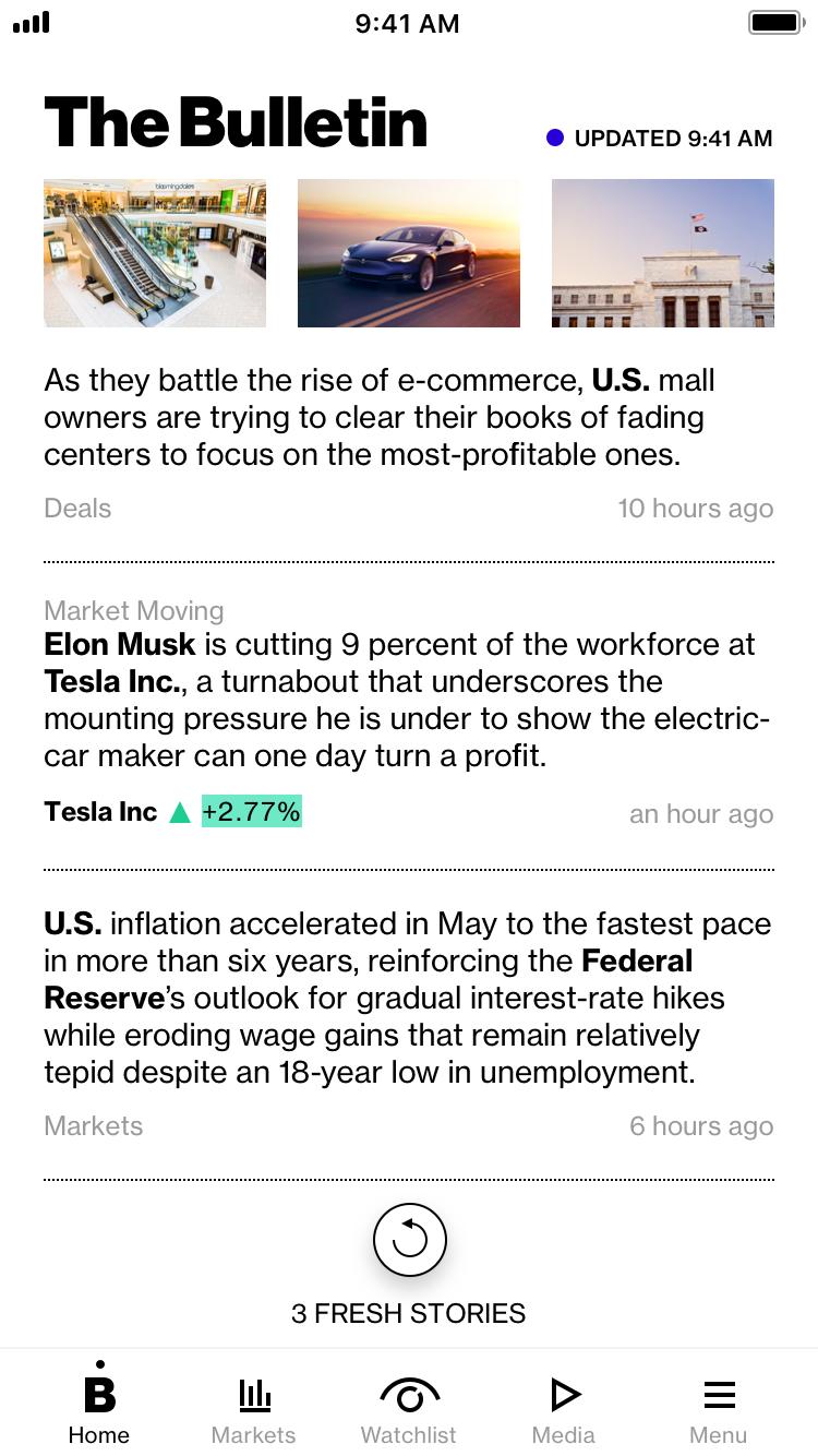 The Bulletin Bloomberg ()