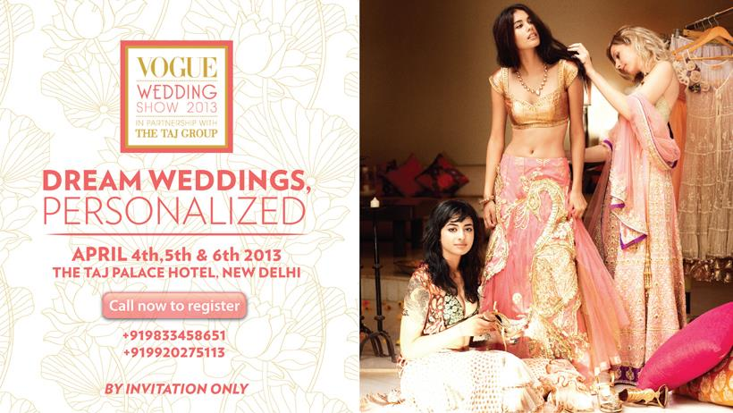 Vogue India wedding invitation ()