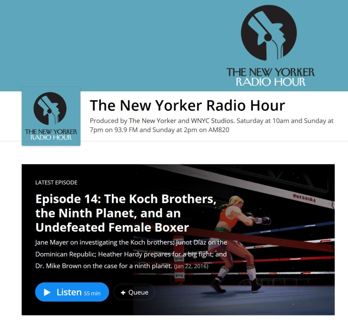 The New Yorker Radio Hour ()