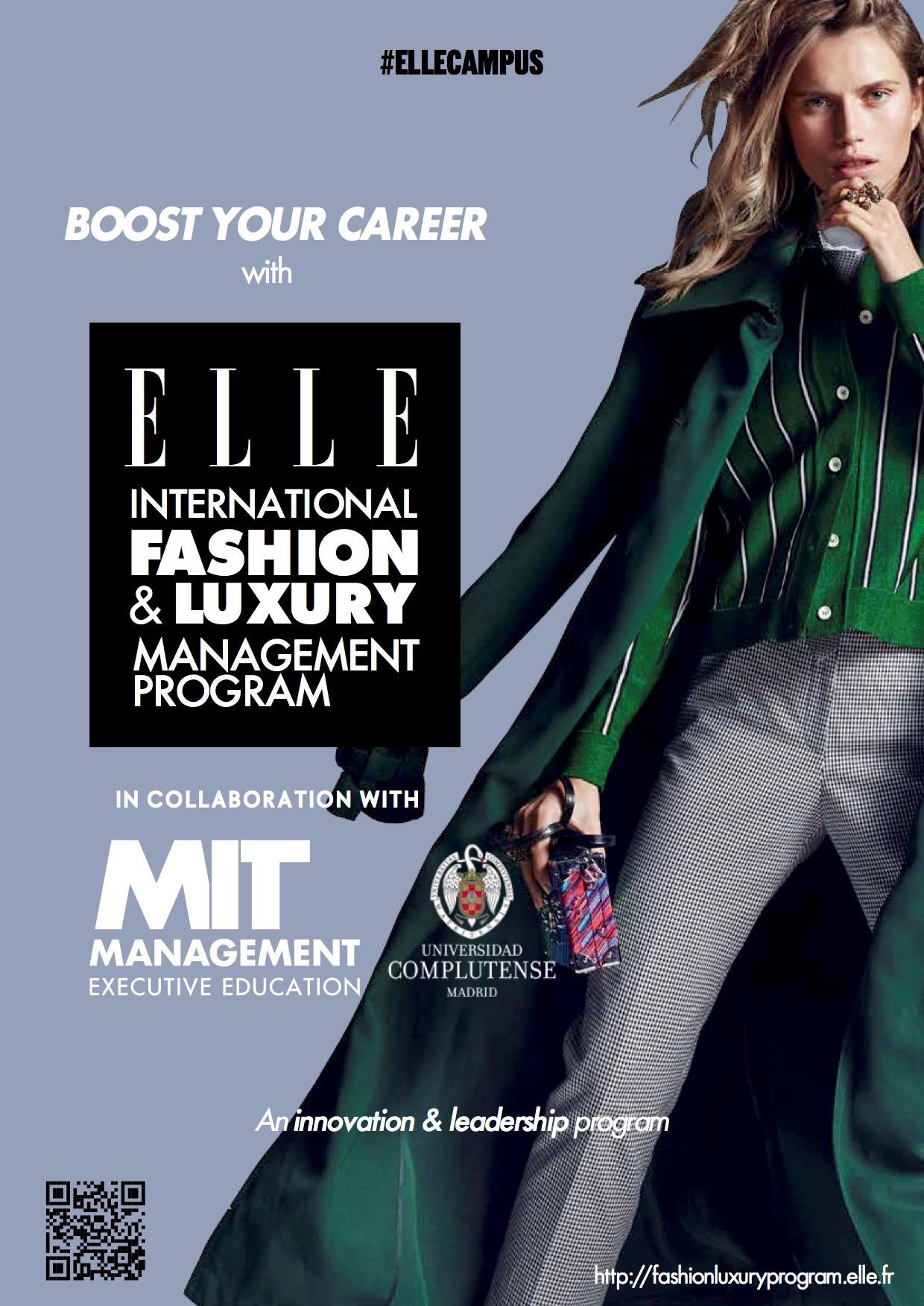 Elle International Partners With Mit To Launch A Fashion And Luxury