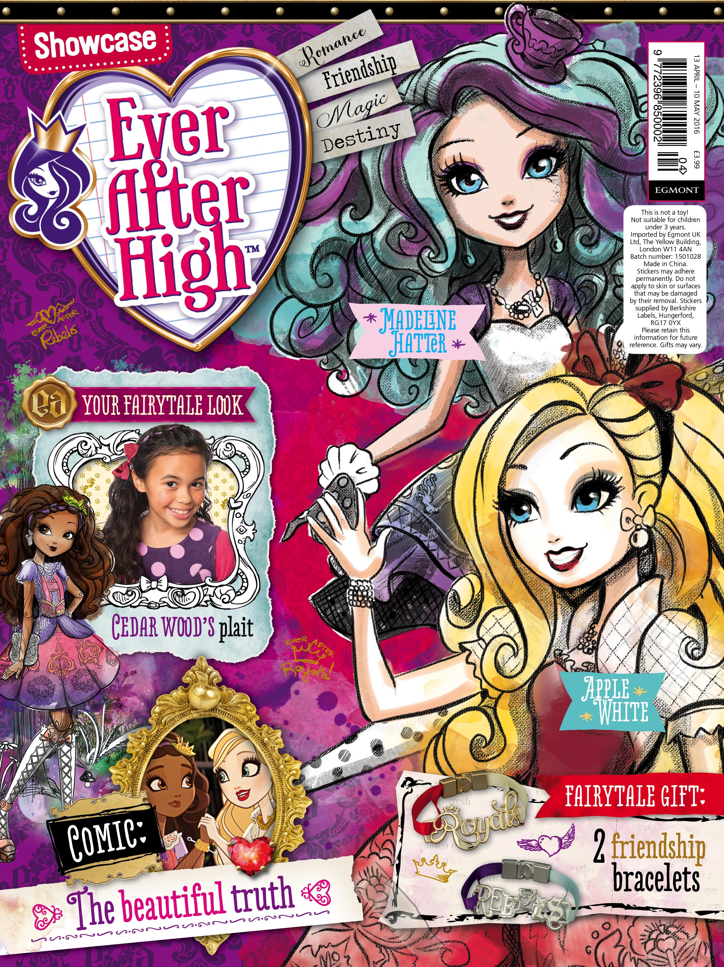 It's just a picture of Candid Picture of Ever After High