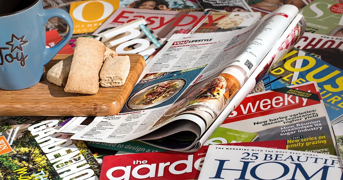 Magazines generic header ()