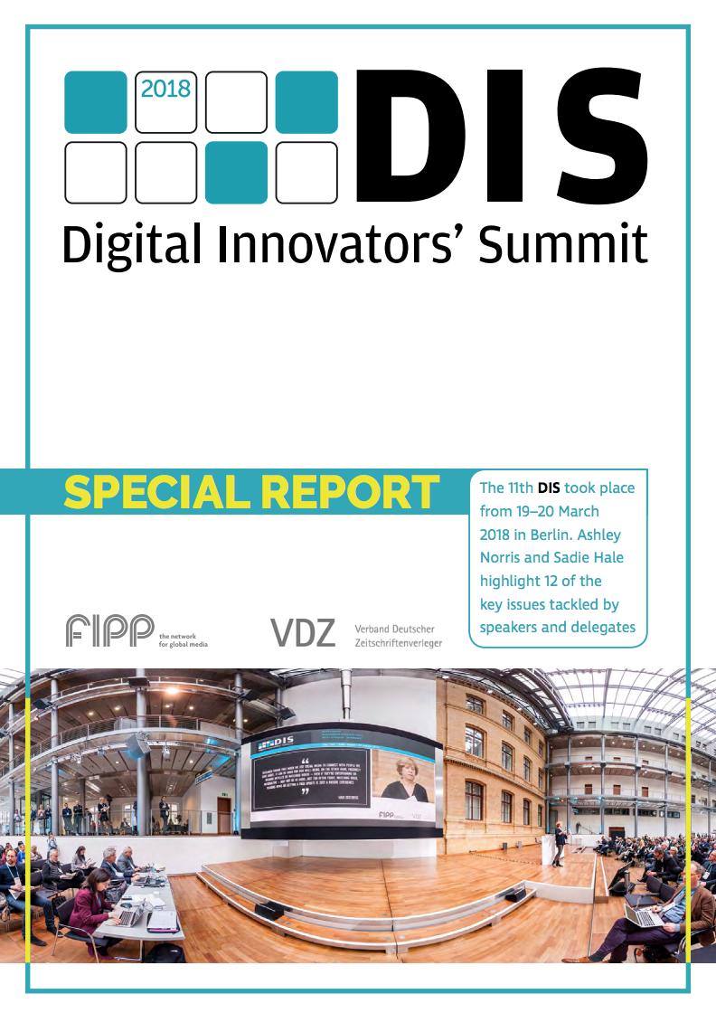DIS 2018 Report ()