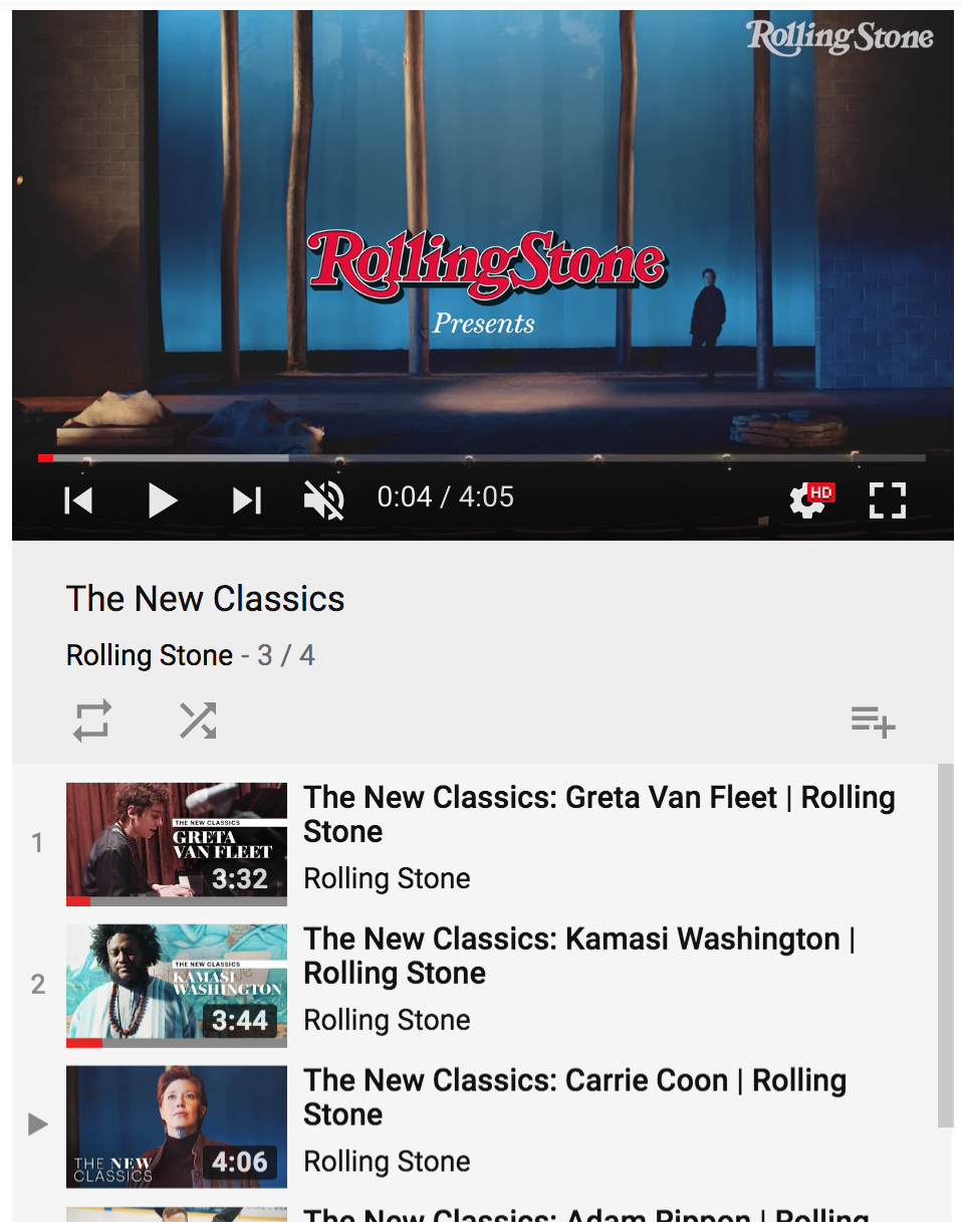 Rolling Stone presents YouTube ()