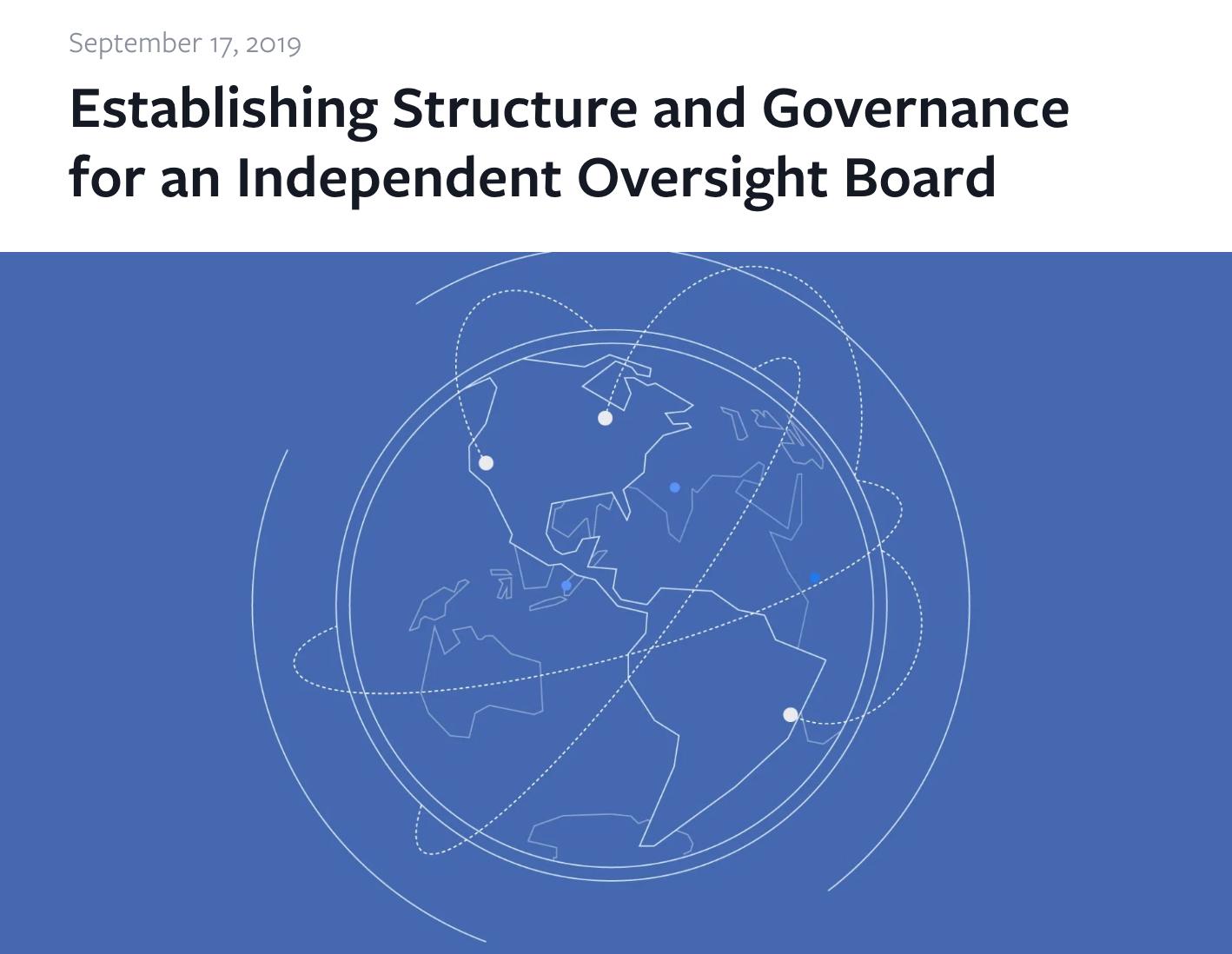Facebook Oversight Board ()