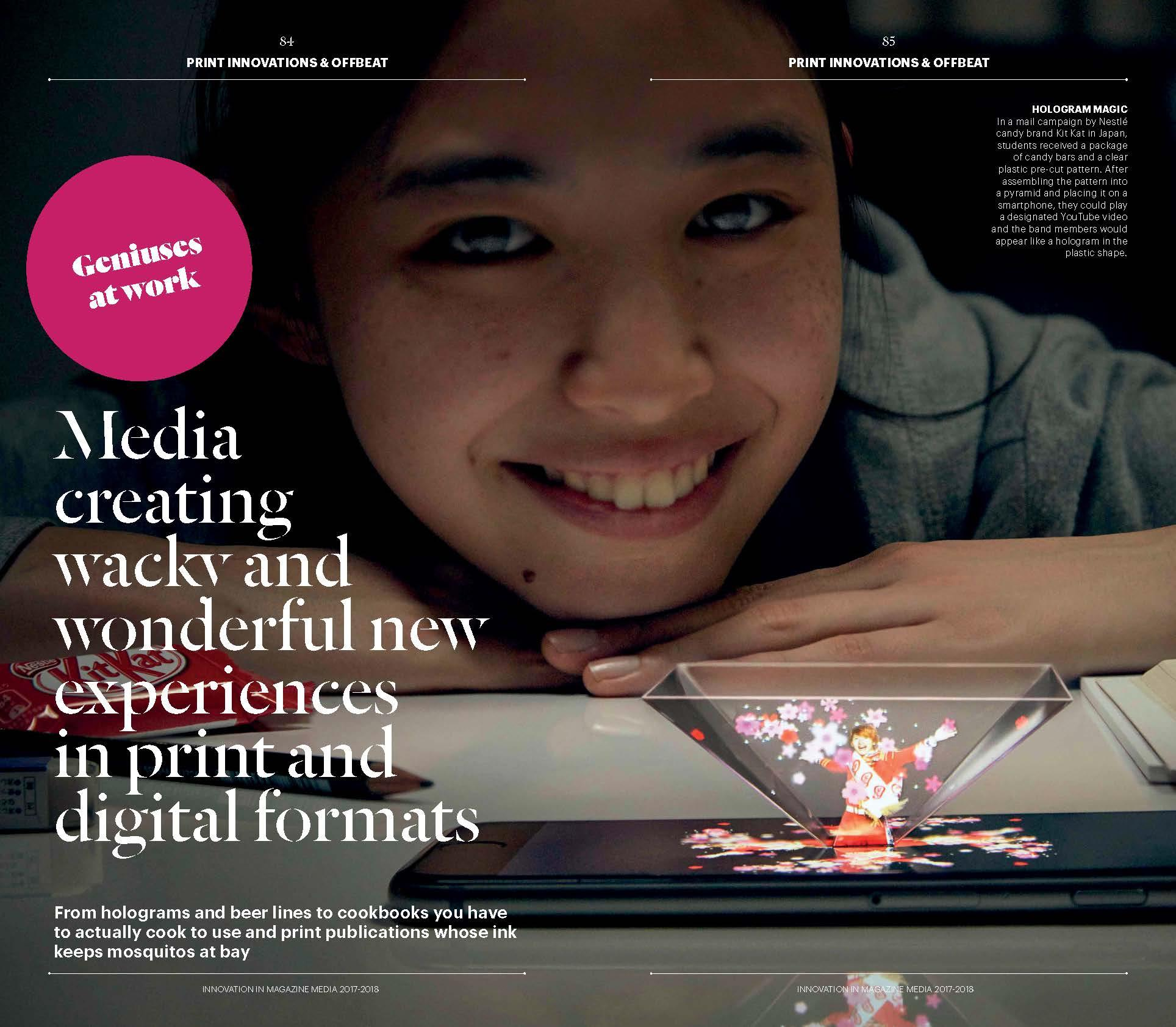Offbeat - Innovation in Magazine Media 2017-2018 World Report (FIPP)