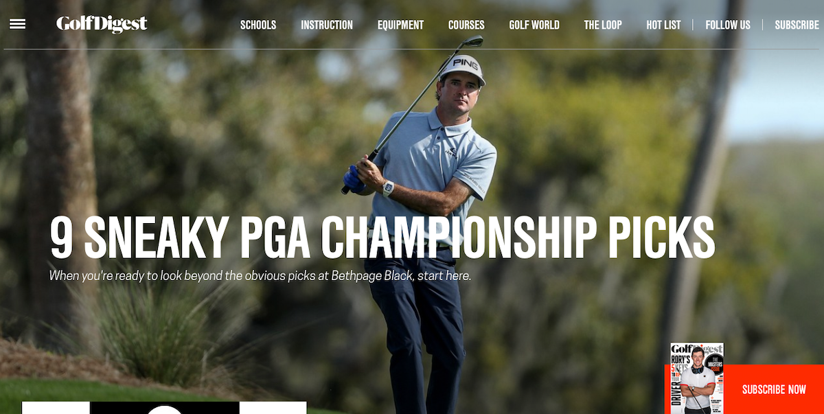 Golf Digest HP ()